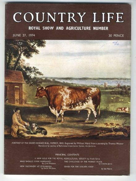 1974 COUNTRY LIFE MAGAZINE 27 June ROYAL SHOW West Wycombe BERNINA PASS